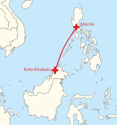 to Borneo