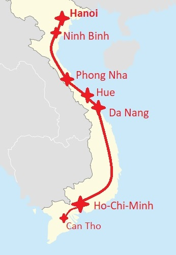 20 Days in Vietnam – Itinerary – Tobi haut ab