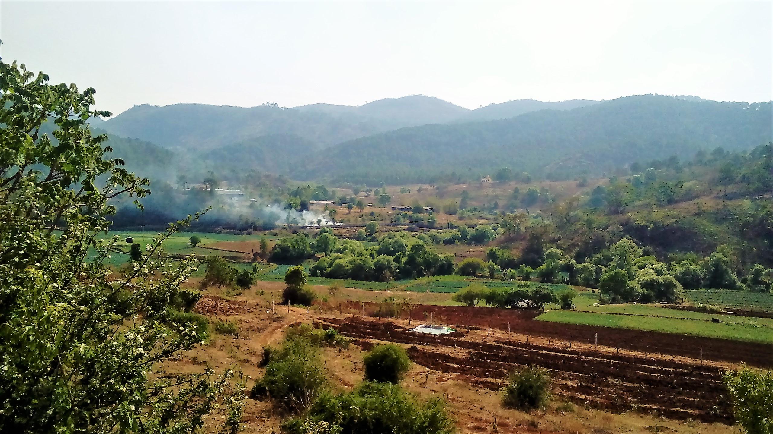 Zugreise von Mandalay zum Inle-See
